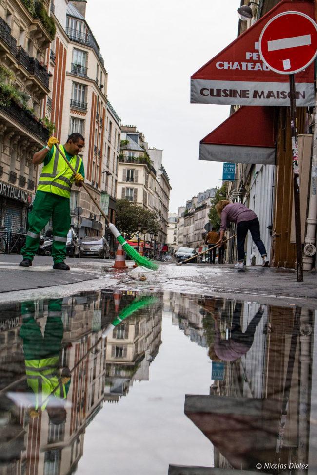 Nettoyeurs, 10e arrondissement