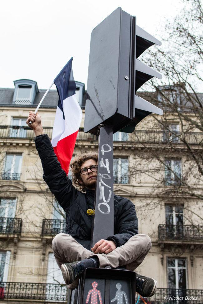 Meeting de Jean-Luc Mélenchon, Paris (18/03/2017)