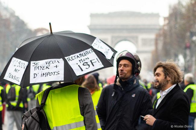 L'ISF et le parapluie