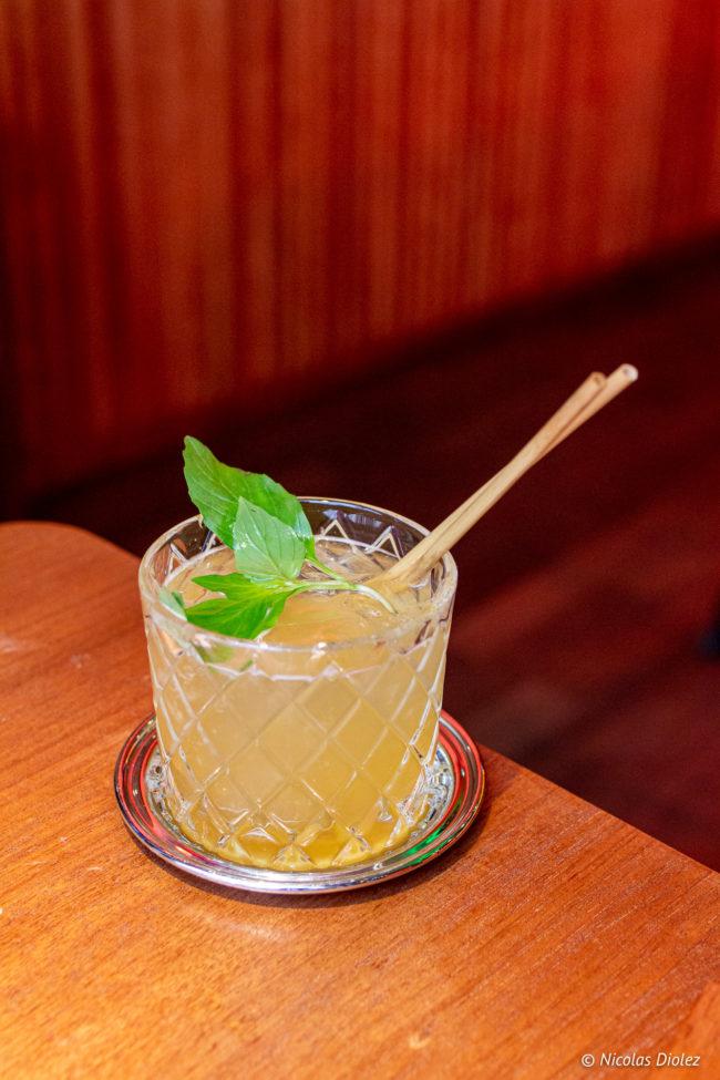 Cocktail Le Steam Bar