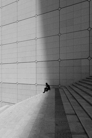 La frontière - tirage limité - Nicolas Diolez